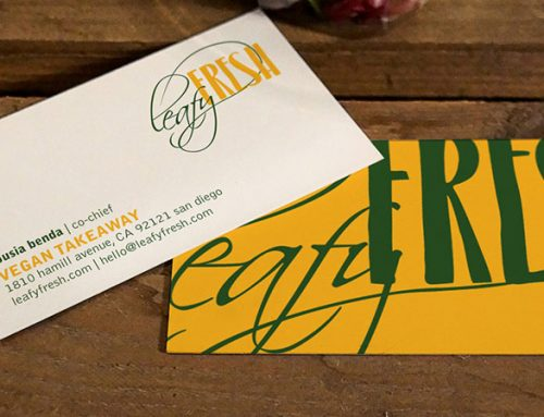 Leafy Fresh – Identity Design