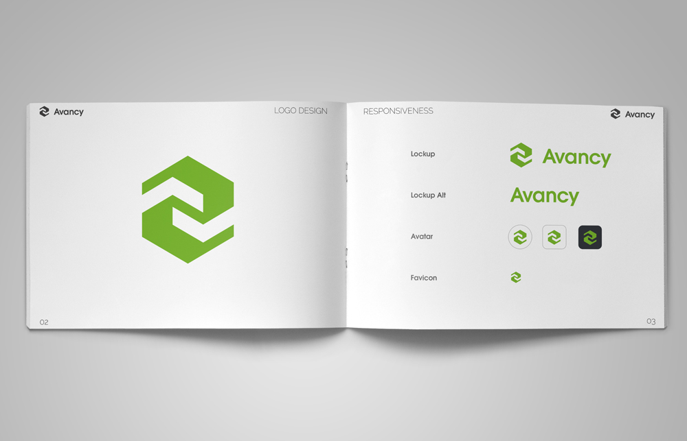 Brandguide Design by Beate Zeuner