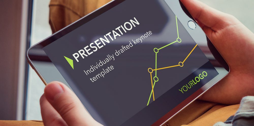 Individually crafted Keynote template